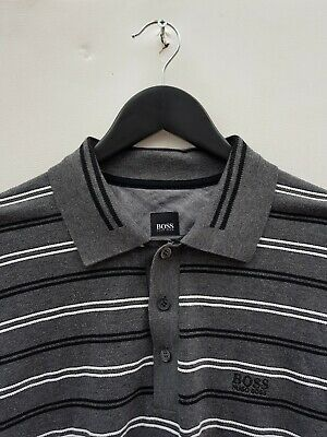 Hugo Boss Slim Fit Polo Shirt Large Excellent Condition!