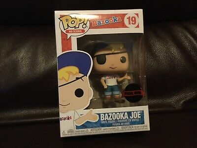 Special edition europea Funko POP Bazooka Joe AD ICONS New !!
