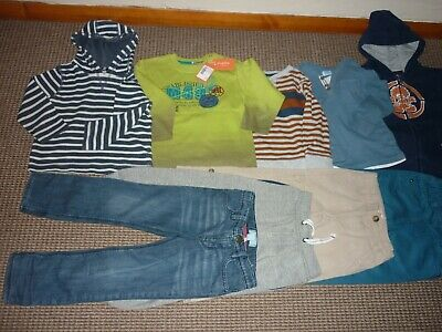 Bundle Boys Clothes age 3-4yrs Saltrock Gap  Jeans Joggers Tops Hoodie Trousers