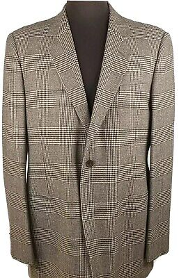 Giorgio Armani Black Label Brown Wool Sport Coat Jacket Blazer 60 US 50 R