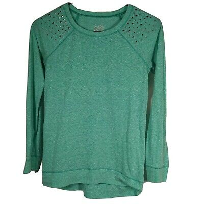 Girls Sz 12 Sweater Tops Shirts JUSTICE Color Aqua