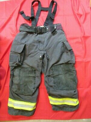 MFG. 2010 GLOBE GXTREME 48 x 26 Firefighter Turnout Bunker Pants SUSPENDERS