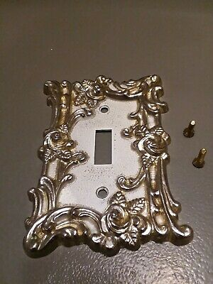 Vintage Bronze American Tack & Howe Co Single Light Switch Plate 1967 #60T