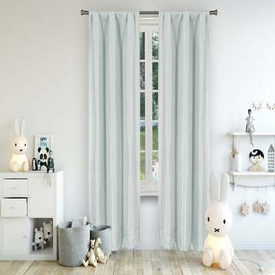 Lala & Bash | Solid Textured Curtain 2 Panel