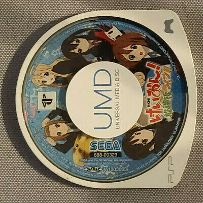 USED K-ON Houkago Live PSP Sega Sony PlayStation Portable From Japan UMD ONLY