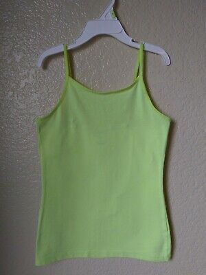 Old Navy Girls Neon Yellow Tank Top Size Medium