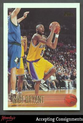 1996-97 Topps #138 Kobe Bryant RC LAKERS ROOKIE