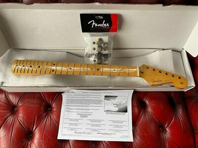 Fender Classic 50s Stratocaster Strat Soft V Genuine  Guitar Neck WITH TUNERS