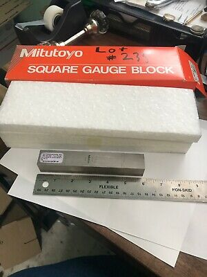 Mitutoyo 150mm Rectangular Steel Calibration Inspection Gage Block 614803-541