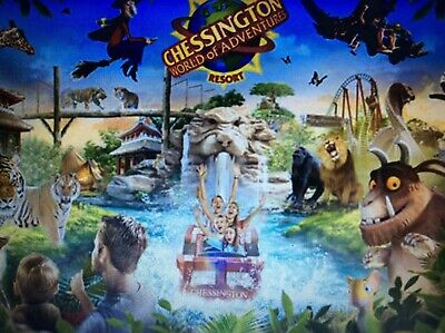 2 X Tickets To Chessington World Of Adventures On Friday, 22nd May, 2020