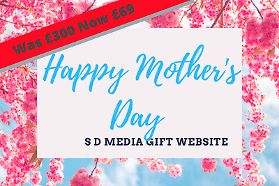 Personalised MOTHERS DAY Gift - Website Design Free Web Domain & Hosting