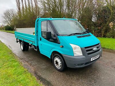 2008 Ford Transit T350 DROPSIDE TDCi 100ps [DRW] [6] CHASSIS CAB Diesel Manual