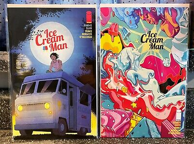 Ice Cream Man #9 Cover B Image Comics 1st Print EXCELSIOR BIN