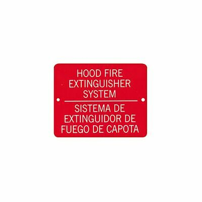 Front Line Sales Hood Fire Extinguisher Sign