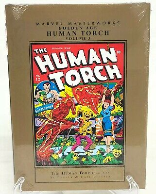 Golden Age Human Torch Volume 3 Collects #9-12 Marvel Masterworks HC New Sealed