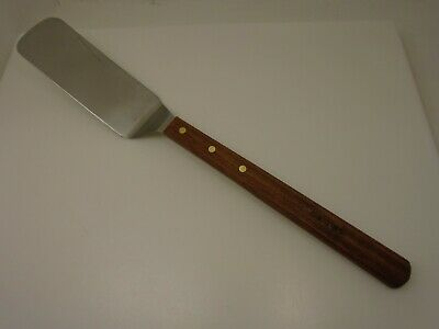 Dexter Russell USA Extra Long LS8698 Wood Handle 8x3 Turner Stainlss Steel Blade