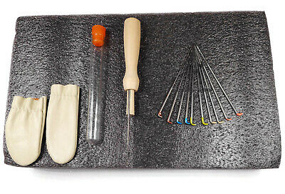 12x Needle Felting Kit Starter Kit Felting Tools Needles Felting kit Felting