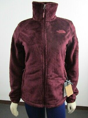NWT Womens The North Face Osito Midweight Soft Fleece Full Zip Jacket - Red