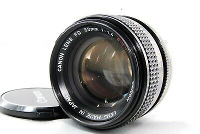 ◉EXCELLENT4◉ Canon FD 50mm f/1.4 S.S.C ssc MF SLR Lens FD Mount From JAPAN #66