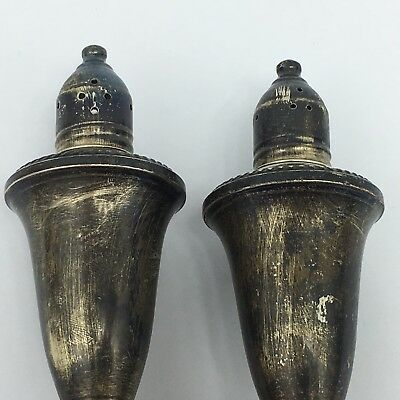 Vintage Duchin Creation Weighted Sterling Silver Salt and Pepper Shakers