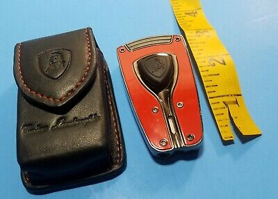 Lamborghini Forza Torch Flame Cigar Lighter Red