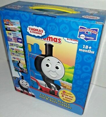 Electronic Reader and 8- Book Library Thomas & Friends