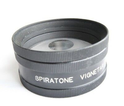 Spiratone Vignetar 55mm Clear Center Special Effects Lens Filter Vignette