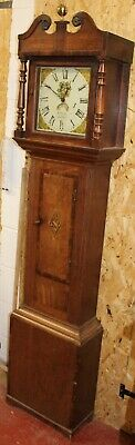 1820's  30 hour Grandfather Clock by W Phillips from Ludlow