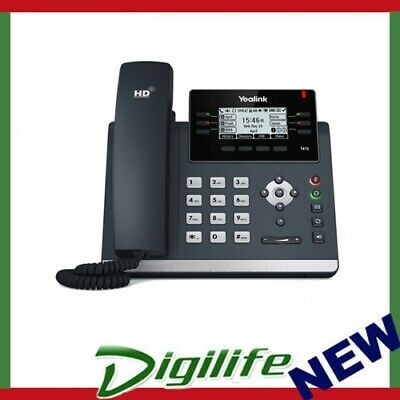 "Yealink T41S 6 Line IP phone, 2.7""192x64 pixel graphical LCD with backlight"