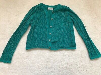 Girls Green Cardigan Age 4-5 Years From Next