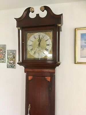 longcase clock By JO Band of Bridgwater