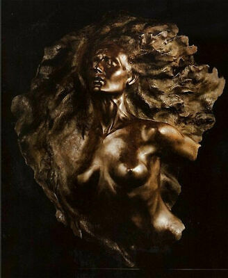 Frederick Hart Ex Nihilo, Fragment No. 2 Full Scale Bronze Sculpture Signed Art