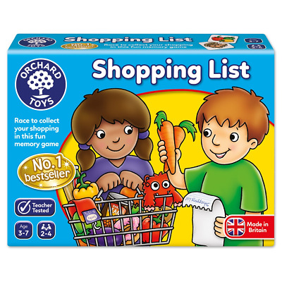 Orchard Toys Shopping List Game, Matching and Memory game, 3-7 Years, Educati...