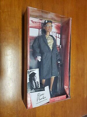 Rosa Parks Barbie Signature Inspiring Women Series 2019 Doll Mattel NEW