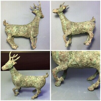 Luristan ancient bronze animal deer 1500_500 bc