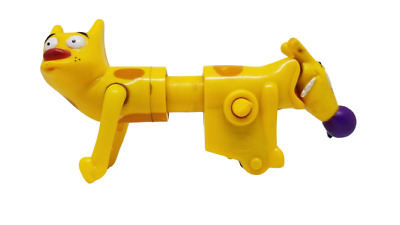 CATDOG SOUPED UP SCATEBOARD PULL-BACK TOY NICKELODEON BK 1999