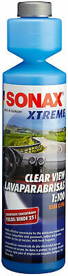 SONAX XTREME 271141 NanoPro windscreen washer clear view 1:100 concentrate