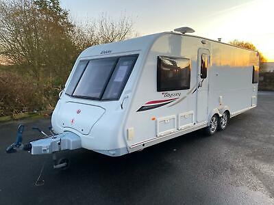 Elddis Odyssey 634 4 Berth Touring Caravan with Fixed Bed
