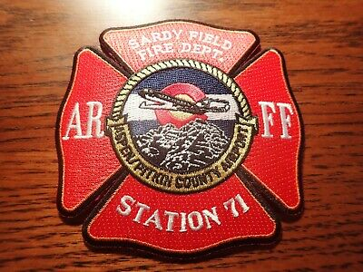 Brevard Fire Department NCHART Helicopter Rescue Patch North Carolina NC