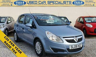 2008 08 Vauxhall Corsa 1.3 Life Cdti 5 Door * Turbo Diesel * Low Mileage *
