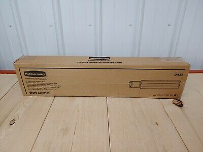 """18 Total (3 Cases of 6!)RUBBERMAID COMMERCIAL Q425 24"""" INCH WET PAD W/ SCRUBBER"""