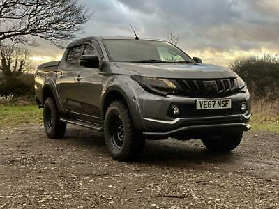 2018 Mitsubishi L200 Seeker Sport Double Cab DI D 178 Warrior 4WD with 5k sty...