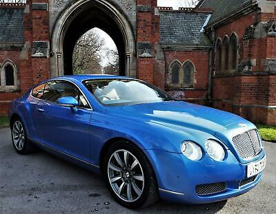 2004 Bentley Continental 6.0 GT W12( 552bhp ) 4X4 57k,Alpine Head unit upgrade