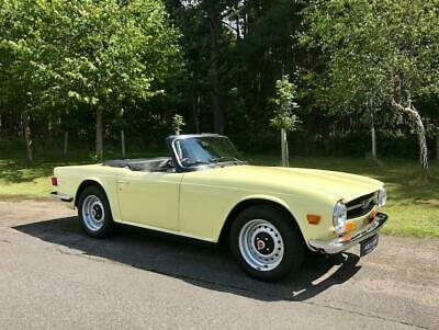 1971 Triumph TR6 Convertible - Stunning RHD example with Overdrive