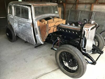 1933 Rover Speed 20, Hastings Coupe car – the last one.