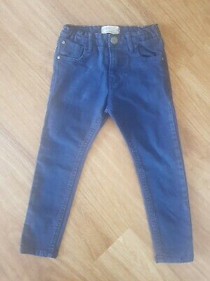 ZARA ~ Zara Boy's ~ Dark Navy Blue Skinny Jeans  ~ Age 4 Years~Excellent Condion