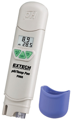 Extech PH60: Waterproof pH Pen with Temperature