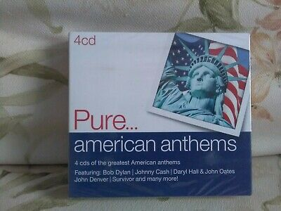 PURE....AMERICAN ANTHEMS - Various Artists - 4 X Cd -(2014) - New - Free UK Post