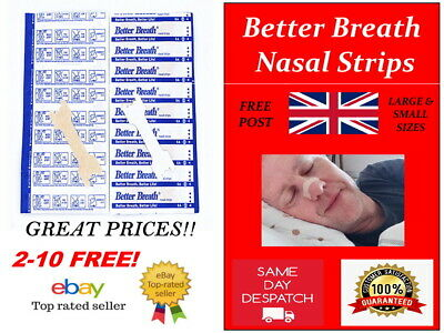 Better Breath Nasal Nose Strips Right Aid For Stop Anti Snoring Sleep Football