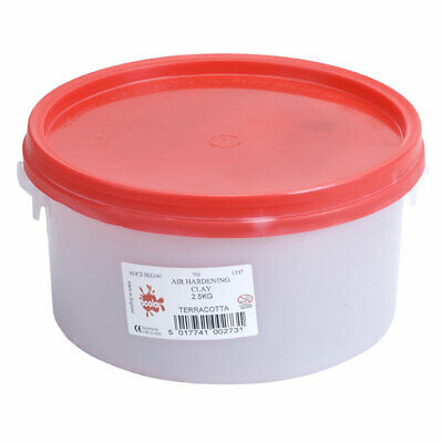 Scola ADC2.5KG/40 Air Drying Clay 2.5kg Terracotta
